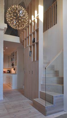 Studio Vabø architecture - Staircase - Møllegata Kingston, Divider, Scale, Stairs, Architecture, Room, Furniture, Design, Home Decor