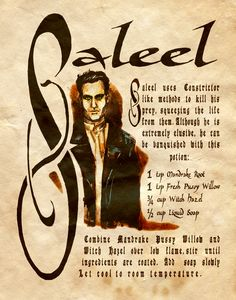 """Saleel"" - Charmed - Book of Shadows"