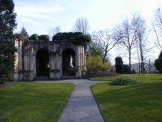 Vestiges parc des Capucins à Coulommiers - 2002