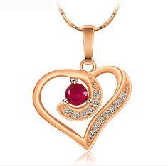 Mother's Jewelry - Beautiful Heart Shaped Pendant