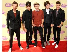 1D at the MTV Video Music Award Show