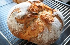 Crispy Chewy No Knead Bread Recipe Portuguese Bread, Portuguese Recipes, Knead Bread Recipe, No Knead Bread, Rutabaga, Chou Rave, Dutch Oven Bread, Dutch Ovens, Bread Recipes