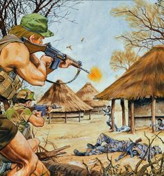 Bush Wars: Africa 1960-2010 Military Photos, Military Art, Military History, Paris Ville, Strange History, American War, Modern Warfare, African History, Special Forces