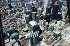 My Poems, Recipes, English & Sinhala Lyrics, Quotes.....: View from CN Tower - Downtown Toronto