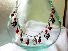 Treasure Keeper Necklace  Harley Quinn by MadamNina on Etsy, $30.00