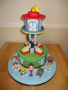 Paw-Patrol-Tower-Cake-e1443428389456-529×705-UP