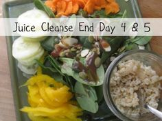 Juice Cleanse End. Day 4  5.  Must we part? | New Nostalgia