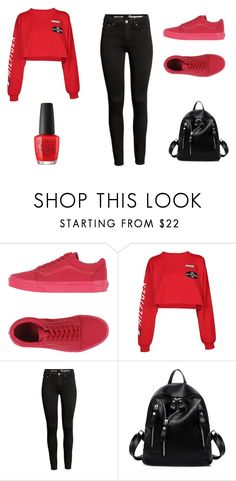 """Swag"" by aderrica-hair on Polyvore featuring beauty, Vans, Tommy Hilfiger and OPI"