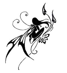 native girl fairy and flower tattoo designs for women   you can add this tattoo to your tattoo box for later review or ...
