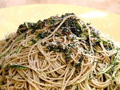 Spaghetti with Olive Oil and Garlic - wasn't so great.