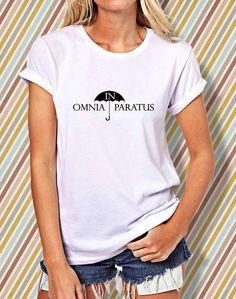In Omnia Paratus Women's Tshirt  Paratus Tshirt  Funny by COMBERAN