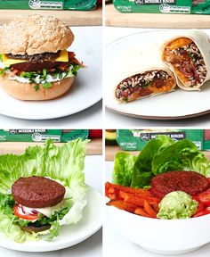 Plant based meal-inspo sorted thanks to the Harvest Gourmet Incredible Burger. Sweet Potato Recipes Healthy, Healthy Sweet Snacks, Healthy Meals To Cook, Healthy Filling Snacks, Healthy Dessert Recipes, Nutritious Meals, Vegetarian Recipes, Cooking Recipes, Meatless Burgers