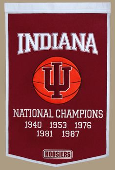 Indiana University Basketball - National Champs... I guess its just in my blood.