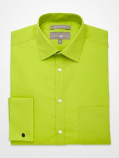 1000 images about pop color dress shirts on pinterest for Neon green shirts for men