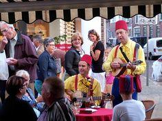 Toeristenmarkt in Katwijk. 9 dinsdagen van 13.00 tot 21.00 in juli en augustus.
