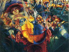 The Laugh, 1911 - Umberto Boccioni -