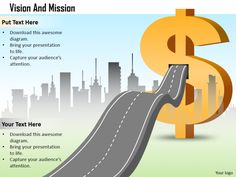 Vision mission roadmap for financial growth