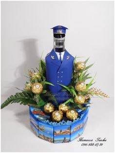 Композиция из конфет «Прокурор»