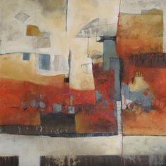 Solo Por Hoy - Gabriela Epstein.  Abstract. Painting. Mixed media