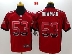 b5e1b8d42 Men 53 NaVorro Bowman Jersey Football San Francisco 49ers Jersey