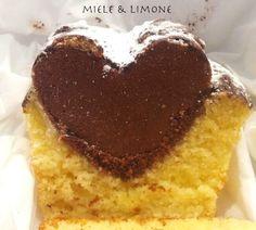 ...Plumcake Cuore di cacao...INGREDIENTI: 250 gr farina 00 150 gr zucchero 250 ml panna fresca (non montata) 2 uova 10 gr lievito per dolci 1 bustina va
