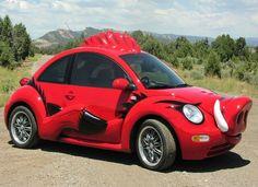 Vw new beetle strange custom