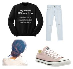 """""""Untitled #35"""" by marissa-moore-i on Polyvore featuring Zara and Converse"""