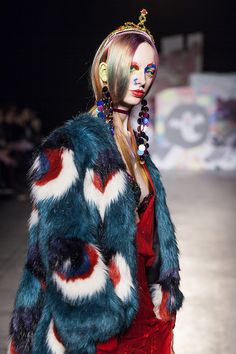 Fashion in Motion: Meadham Kirchhoff. December 6th, 2013. l Victoria and Albert Museum #fashion