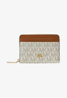 d8ad5112dce MICHAEL Michael Kors MONEY PIECES COIN CARD CASE - Portemonnee - vanilla -  Zalando.nl