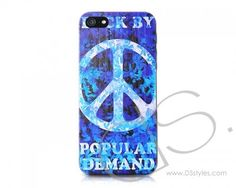 Peace Series iPhone 5 Cases - Blue  http://www.dsstyles.com/iphone-5-cases/peace-series-blue.html