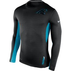 Carolina Panthers Nike Vapor Performance Long Sleeve T-Shirt - Black b32490d67