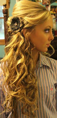 My homecoming hair! :)
