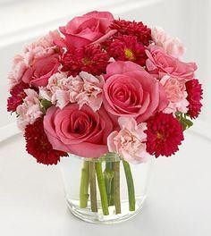 Balıkesir Çiçek Aşk Çiçeğim Renkli Gül ve Karanfiller