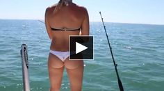 Sexy Florida Girl Shark Fishing video