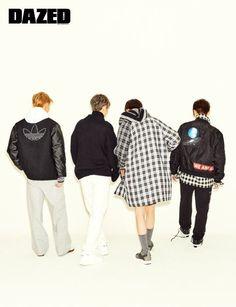 Check Out Seventeen's Performance Team in 'Dazed' Magazine! Dino Seventeen, Carat Seventeen, Hoshi Seventeen, Dazed Magazine, Seventeen Magazine, Korean Entertainment, Pledis Entertainment, Woozi, Wonwoo