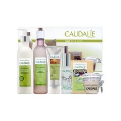 The ultimate holiday collection of deluxe spa favorites.    What it does:  Can't find the time to unwind at the Caudalie Vinotherapie Spa at The Plaza? Pamper yourself by bringing the experience home with the exclusive Spa In A Box set. This ensemble provides an array of luxurious lotions, scrubs, and gels for spa indulgence in the comfort of your own home. Each of these premium products is enriched with plant based ingredients that have been specifically chosen to revive tired and dull…