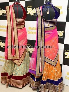 Half Saris by Kanya Collections | Saree Blouse Patterns