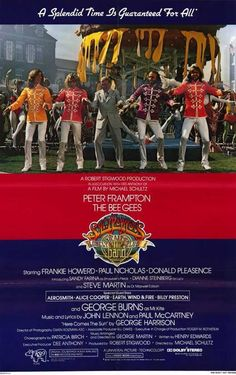 Sgt. Pepper´s Lonely Hearts Club Band (1978) Starring Peter Frampton and The Bee Gees along with Steve Martin, George Burns, Aerosmith, Alice Cooper, Billy Preston and Earth, Wind & Fire performing al