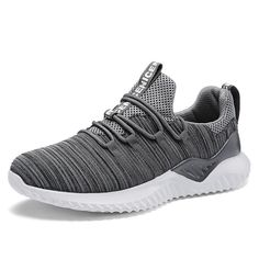 new styles 7f0b3 15b72 2018 Hot Sale Four Seasons Running Shoes Men Lace-up Athletic Trainers  Zapatillas Sports Male Shoes Outdoor Walking Sneakers