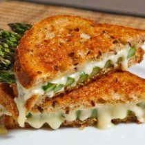 Receta de Sandwich de Espárragos