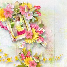 Let The Spring Begin by Ilonkas Scrap Designs - Digishoptalk - The Hub of the Digital Scrapbooking Community