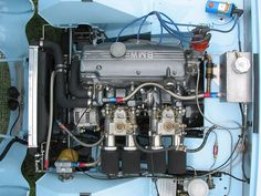 BMW 2002tii four cylinder engine