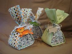 Baby Shower Centerpieces. $30.00, via Etsy.