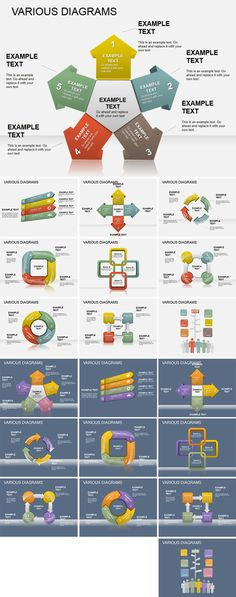 Download Various PowerPoint diagrams