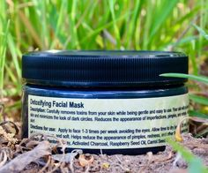 The GWE Detoxifying Charcoal Facial Mask carefully removes toxins from your skin while being gentle and easy to use. Your skin will be glowing after one use, and will feel clean and soft. The Charcoal Facial Mask tightens skin, while minimizing the look of pores and dark circles. It reduces the appearance of imperfections, pimples, and irritating redness. Also makes an effective spot treatment that won't dry out skin! 8oz jar.