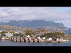 Velkommen til Svolvær og Thon Hotel Lofoten - YouTube