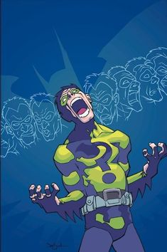 Riddler by Jason Pearson Batman DC Comics Villain