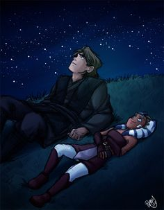 I love this scene and can totally envision this happening. To The Stars by Renny08.deviantart.com