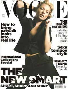 Kate Moss VOGUE UK #9 2006 fashion celebrity monthly