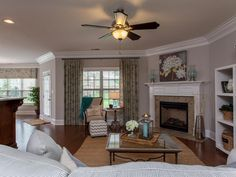 New Home Gathering Rooms | Photo Gallery | Jeff Benton Homes